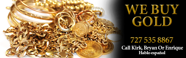 We Buy Gold at Our Largo Florida Pawn Shop.